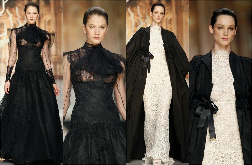 Vestidos de novia con negro de YolanCris